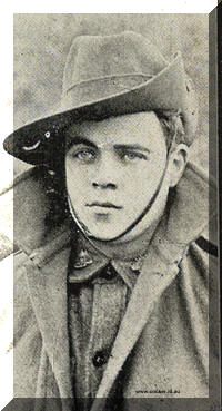 Private Curtis, killed in Action